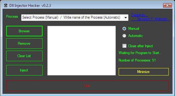 Downloads - Dll Injector Hacker - ToolsLib