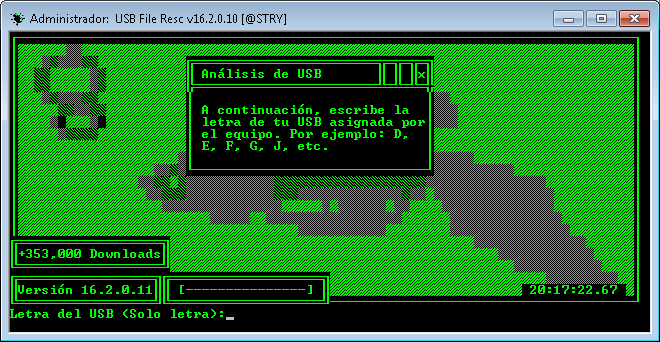 USB File Resc